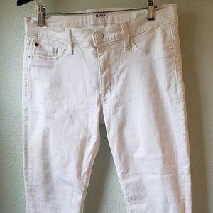 Hudson skinny jeans bright white